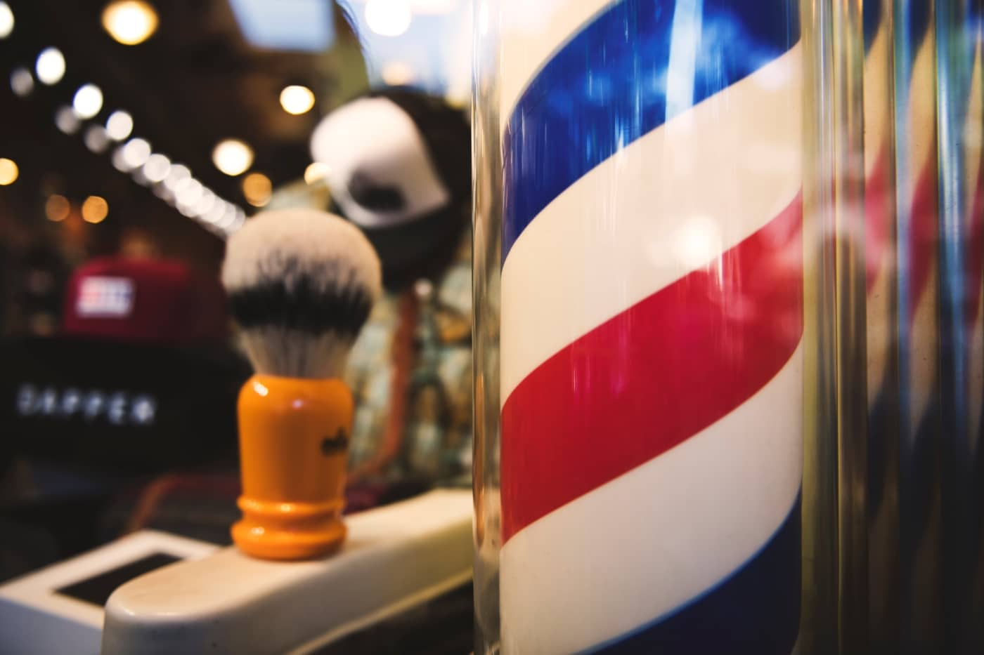 Origin and meaning of barber polles