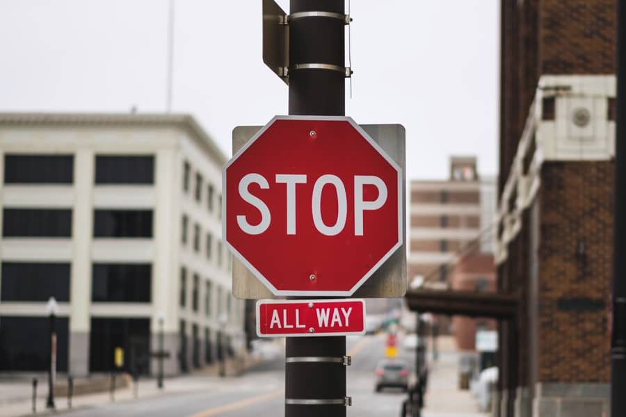Stop neglecting your traffic signs knowledge