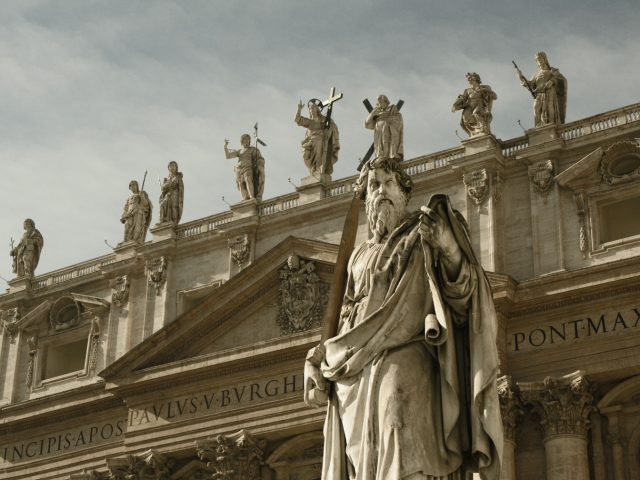 Monumental Ancient Building