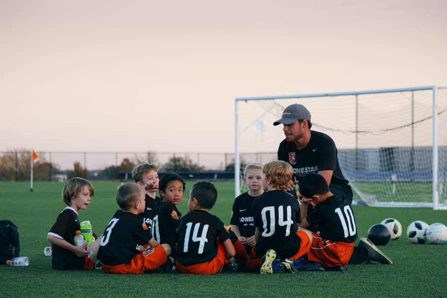Preparing a new training club for kids, signups open