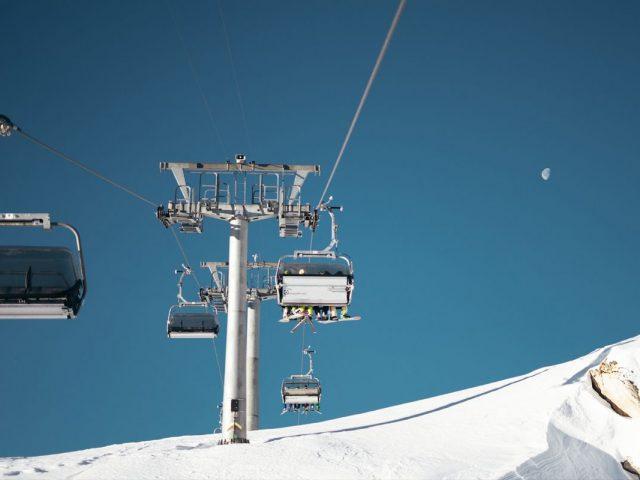 Ski Resort Sankt Moritz