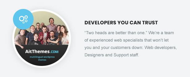 Developers You Can Trust