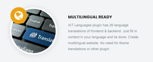 Multilingual Ready