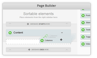 Page Builder Feature