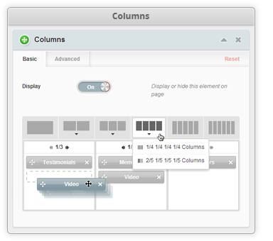 Universal Columns Feature