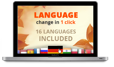Built in Multilingual Support